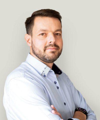 Łukasz Nowaczyk Projektant systemów regałowych - oddział Poznań