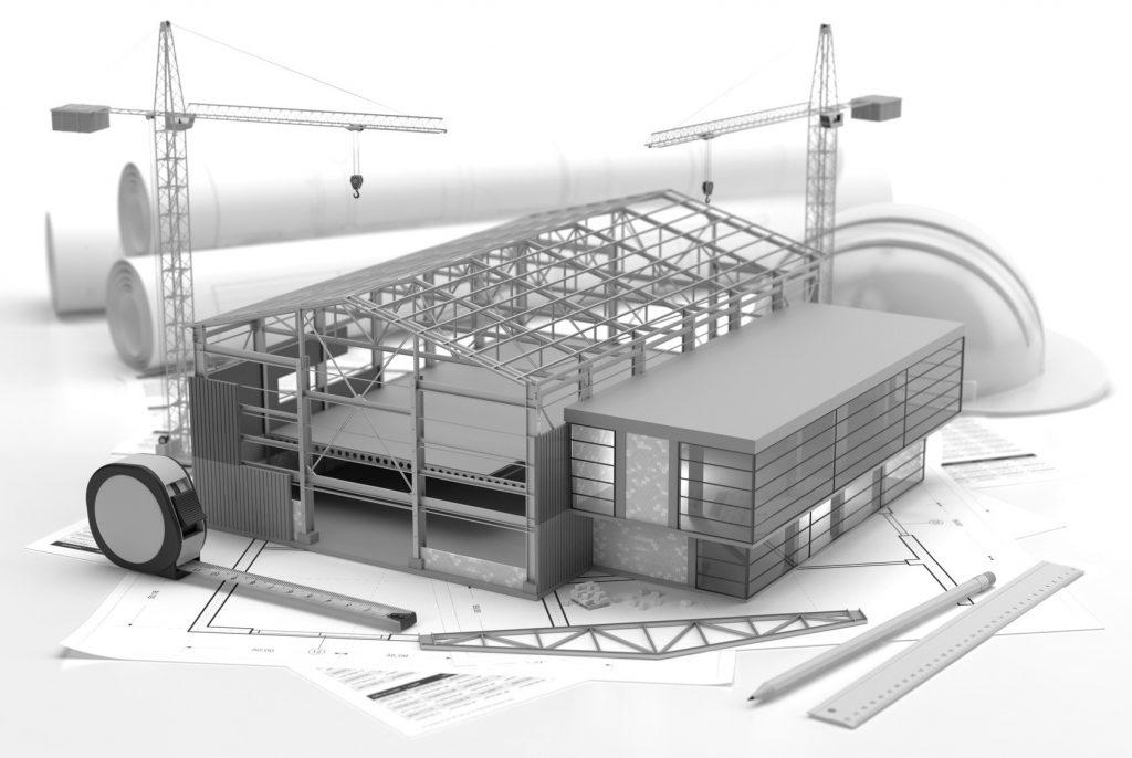 Projekt konstrukcji regałów